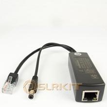 DSLRKIT 액티브 PoE 스플리터 이더넷 48V ~ 12V 1A 2A IEEE802.3af 표준형