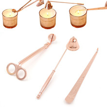 New Candle Accessory Set Candle Wick Trimmer Candle Snuffer Storage Tray 3 Packs Candle Care Kit Gift for Candle