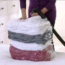 Вакуумная посылка высокой емкости, сжатый органайзер для стеганой одежды, прозрачные компактные герметичные пакеты, складная сумка для хранения