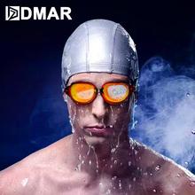 DMAR Professional Swimming Goggles Anti-fog UV Glasses for Men Women diopter Sports Eyewear