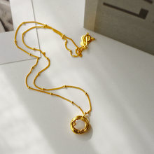 Настоящее барокко жемчужное колье чокер ожерелье Женские Ювелирные
