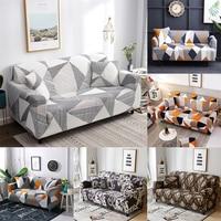 Slipcover antiderrapante elástico sofá cobre poliéster quatro temporada all inclusive estiramento sofá almofada sofá toalha 1/2/3/4 seater|Capa p/ sofá| |  -
