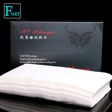 Tattoo special wipe paper Body Art Permanent Makeup Cleaning Tools supplies 50PCS/bags
