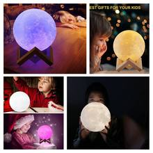 Get more info on the P3D Printed Party Light 16 Color Moon Shaped Light Lamp Touch Control Moon USB Light Christmas Party Decor CM