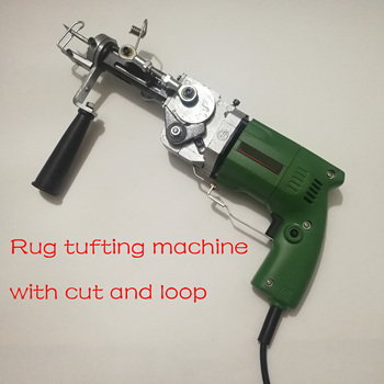 electric Rug tufting machine wall tapestries Hand tufting gun  with cut and loop