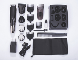 Image 5 - HATTEKER Professional Hair Clipper for Men Rechargeable electric razor 5 in 1 Hair Trimmer hair cutting machine beard trimer 598
