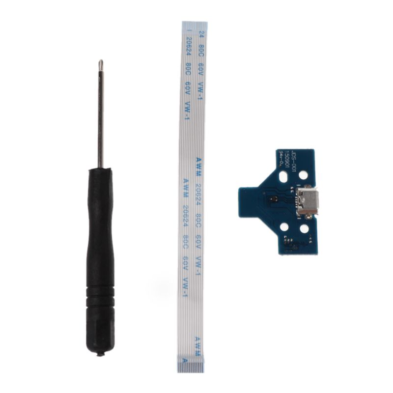 Circuit Board Slim USB Charging Plate Controller Socket Port JDS-001 14 Pin Flexible Power Cable Replacement For Sony 4 PS4 J11