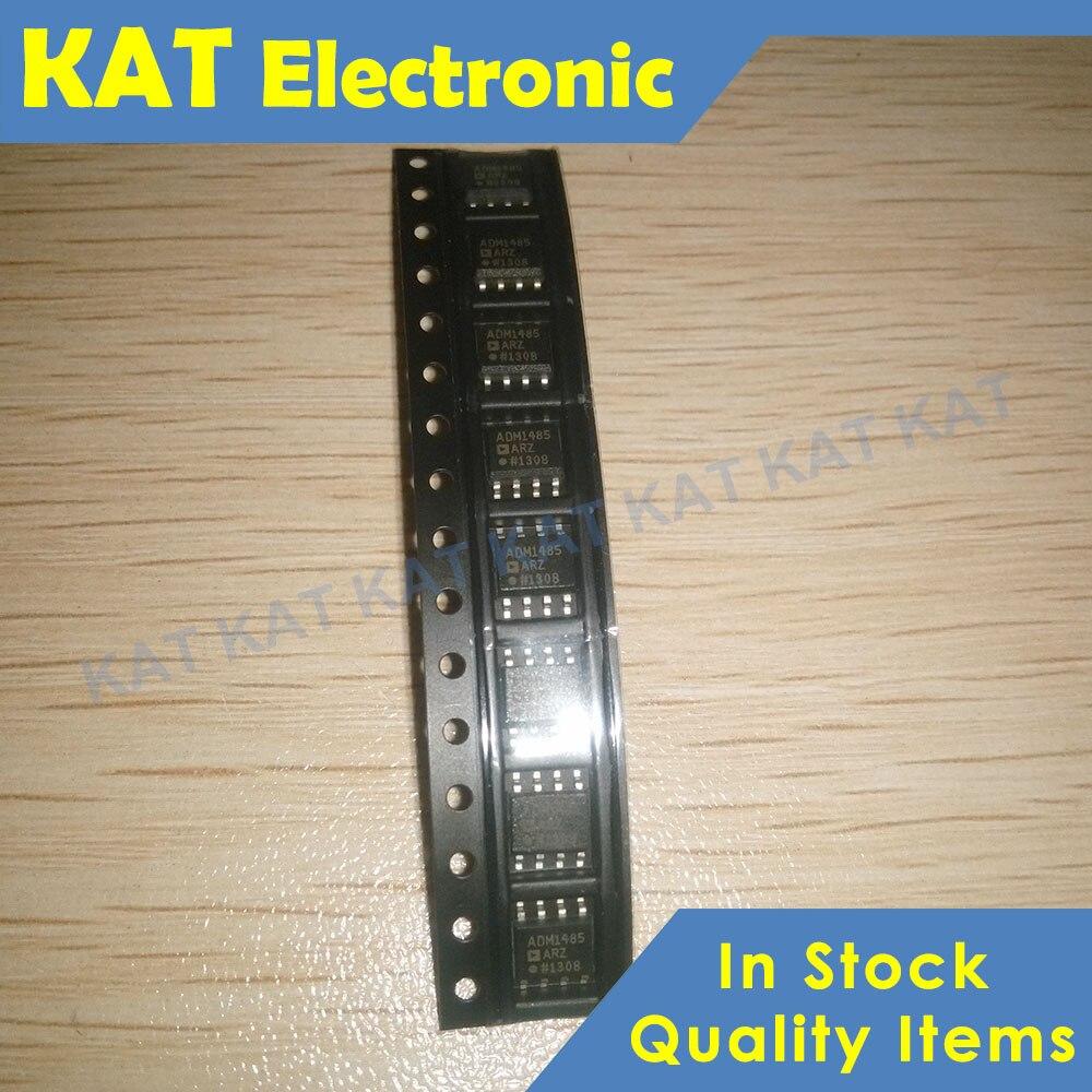 5PCS/Lot ADM1485ARZ ADM1485 MSOP-8 5V Low PowerEIA RS-485 Transceiver