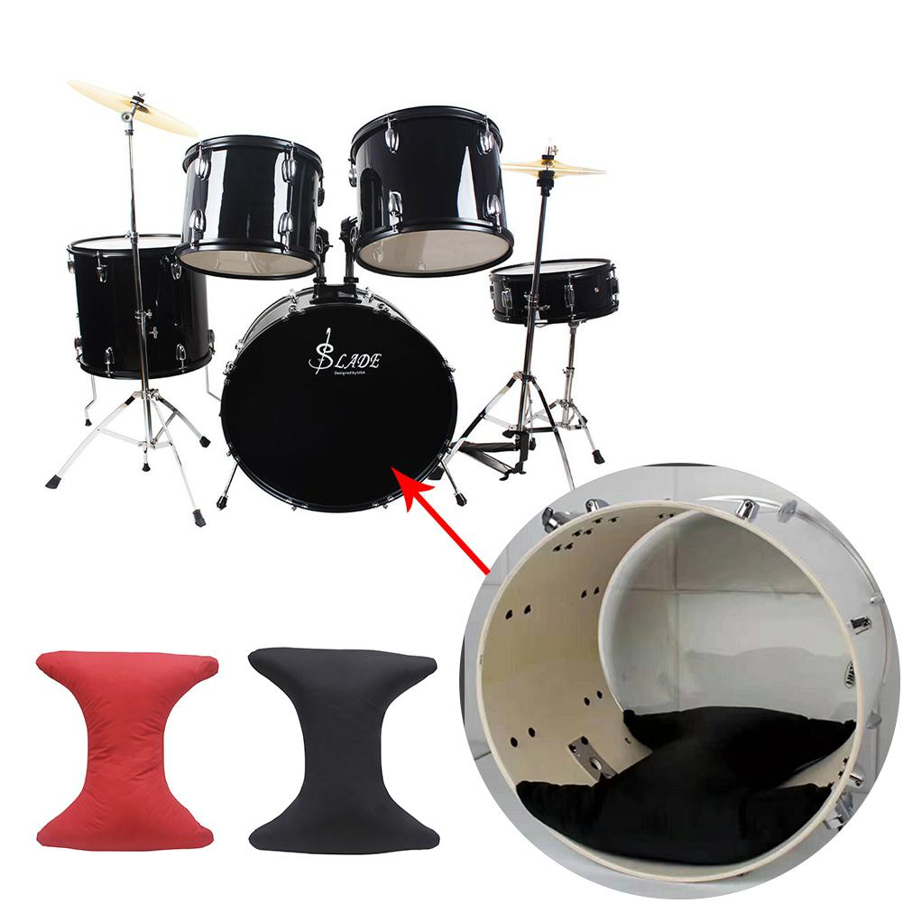 Jazz Drum Pillow Mute Pad Bass Drum Magic Sticker Damper Muffling Tool Double-sided Glue Percussion Instrument Accessories