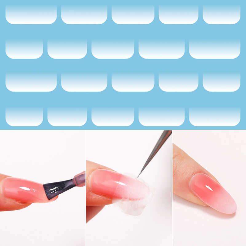 1 Doos Nagels Folie Marble Serie Roze Blauw Brigh Nail Art Transfer Stickers Bloem Bloemen Ontwerp Tips Jelly Opal Water decals