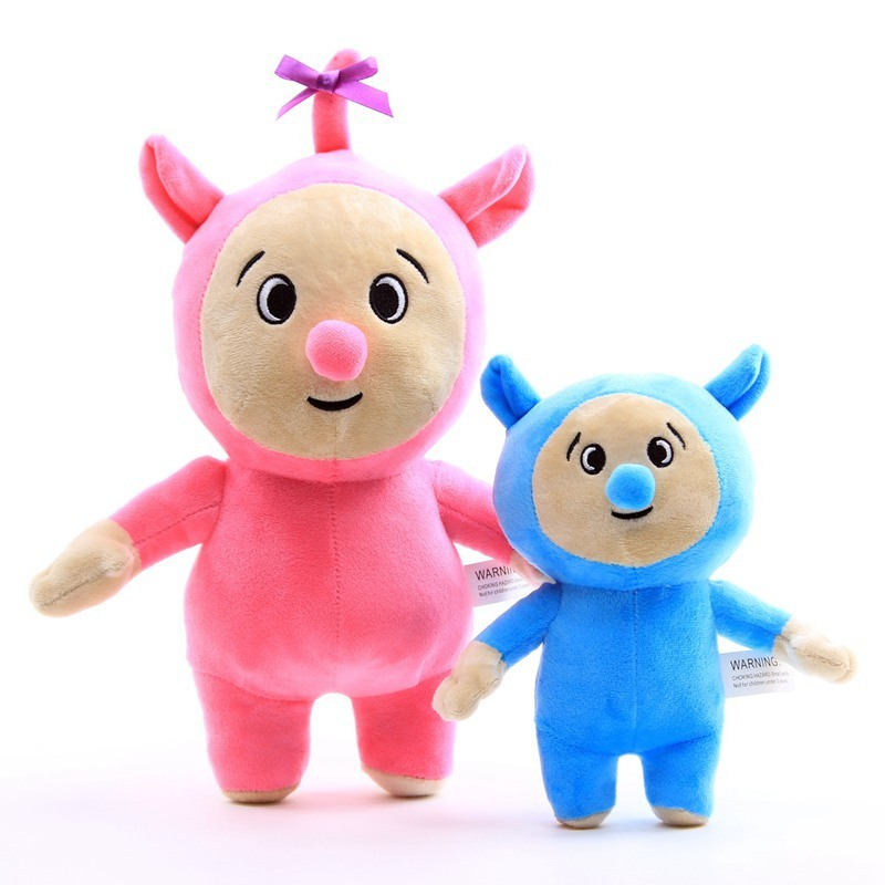 Billy and Bam Bam Cartoon Plush Figure Toys Baby TV Soft Stuffed Dolls Cute PP Cotton Toy Kids Birthday Christmas Gifts 20/30cm