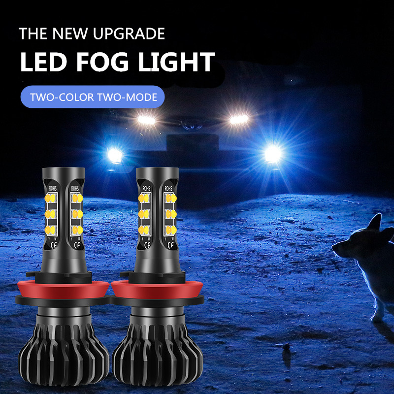 2pcs H8 LED Fog <font><b>Light</b></font> Bulb For <font><b>Chevrolet</b></font> Captiva Aveo Lacetti Spark <font><b>Cruze</b></font> <font><b>2011</b></font> Niva Orlando Driving <font><b>Running</b></font> Lamp Auto LED <font><b>Light</b></font> image