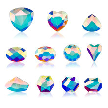 High quality Austria glass beads faceted Jewelry crystal loose Spacer fit Bracelet earring DIY making