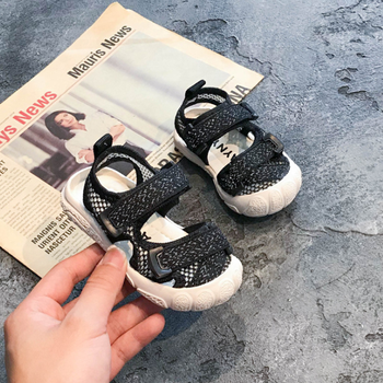 DIMI 2020 Summer Baby Shoes Boy Girl Toddler Sandals Fashion Breathable Baotou Soft Infant Beach Sandals