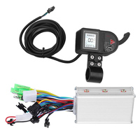 Accessories 24V 36V 48V Stable Brushless Parts Dual Mode Scooter LCD Display Electric Bicycle Controller Panel 250W 350W Durable