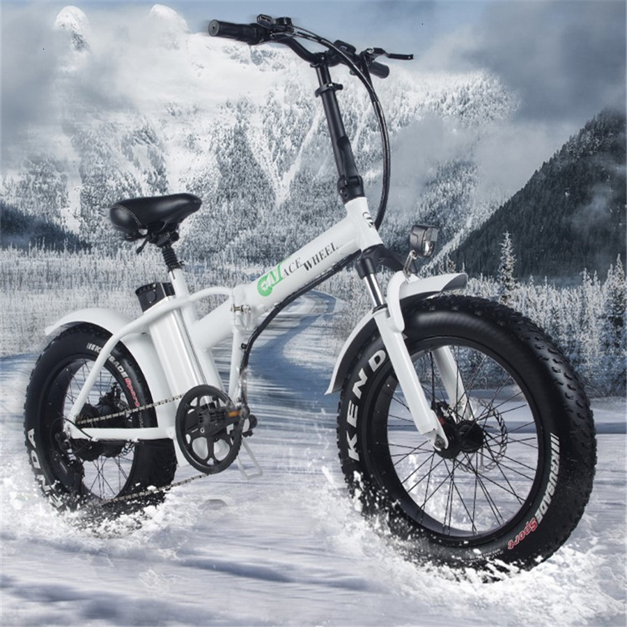 Евро сток Fat Tire 2 колеса 500 Вт Электрический велосипед складывающийся усилитель велосипед электрический велосипед Цикл складной алюминиевый 50км/ч
