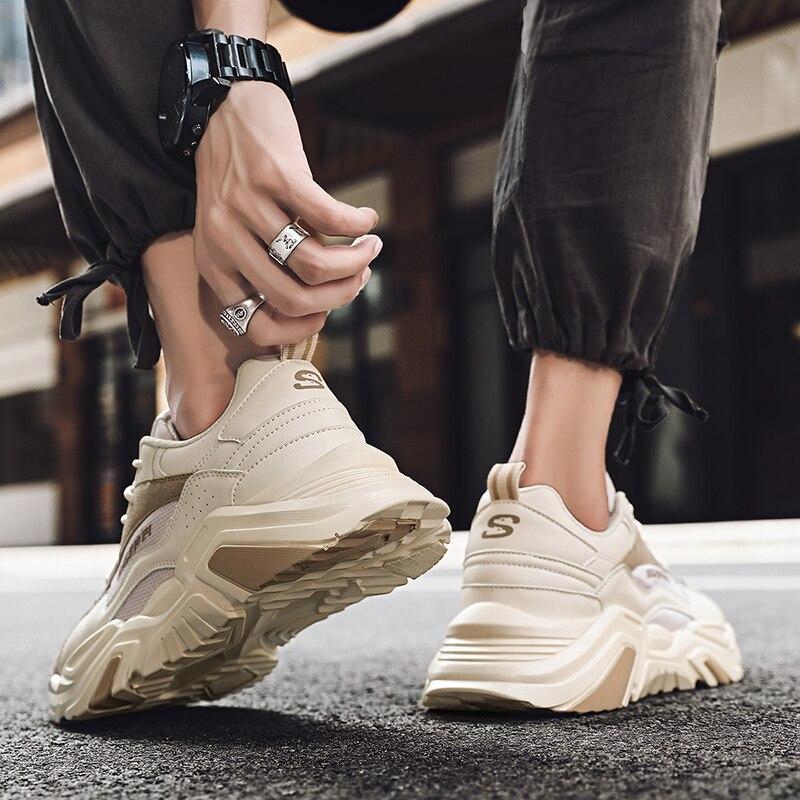 Hommes chaussures décontractées maille respirant hommes chaussures de course antidérapantes mode mocassin léger hommes chaussures de sport Zapatos Hombre