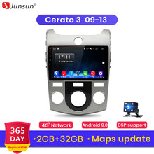 Junsun V1 2G + 32G Android 9.0 DSP Voor KIA Cerato 2 2009 2010-2013 Auto Radio multimedia Video Player Navigatie GPS RDS 2 din dvd(China)