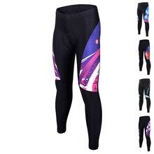 2020 Bike Pants Women Cycling Pants Long Bicycle Trousers Shorts Riding Mtb Wear 3D Padded Reflective Compression Tights Woman цена 2017
