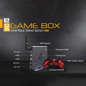 Image 5 - 4K HDMI טלוויזיה משחקי מארח 3D וידאו משחק קונסולת לבנות 2323 משלוח משחק WIFI תמיכה כל משחקים אמולטור משחק קונסולת שני בקר