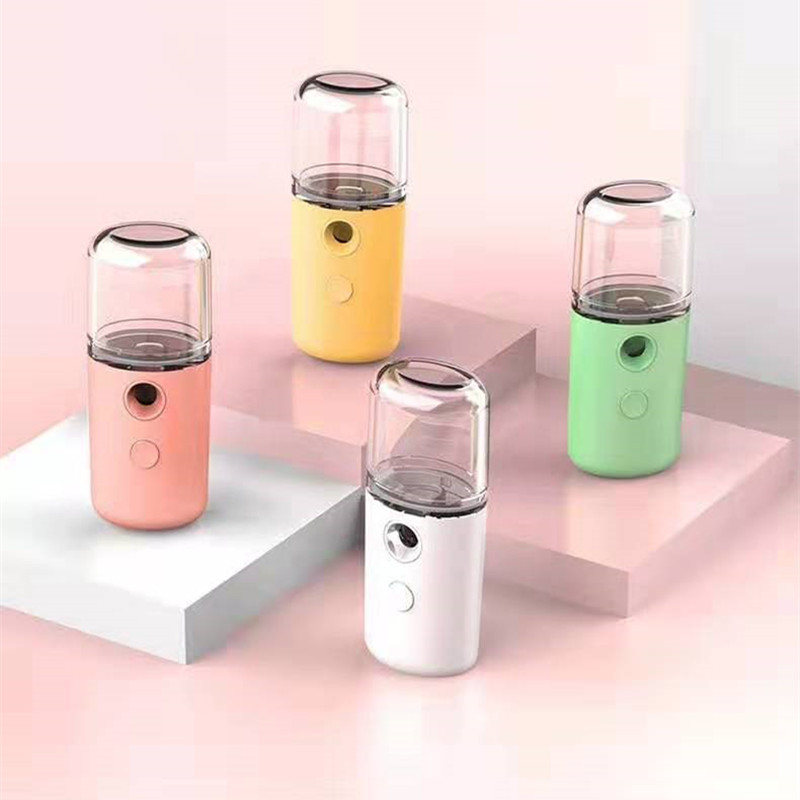 Mist Sprayer Mini 30ml Nano  Portable Face Spray  Facial Body Nebulizer Steamer Moisturizing Skin Care Humidifier Instruments|Humidifiers|   - AliExpress