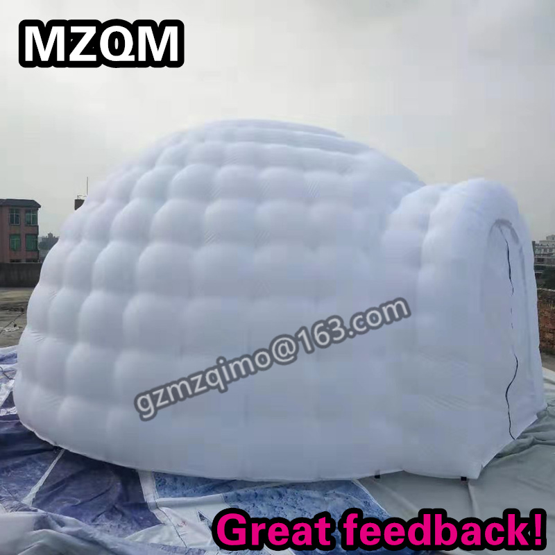 MZQM Oxford Cloth 5 Meters Diameter Inflatable Dome Tent, Custom Inflatable Event Tent