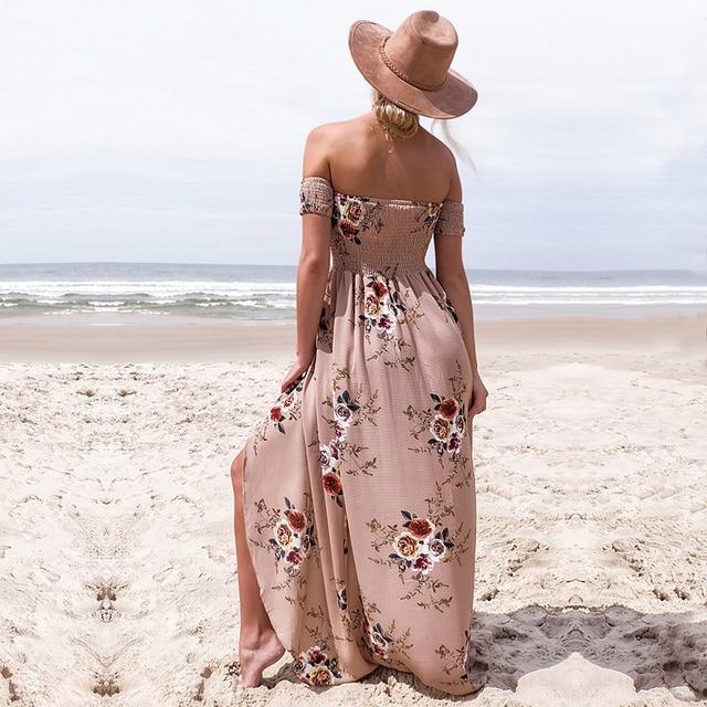 NEDEINS Women Sexy Floral Dress 3