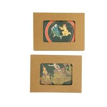 64pcs/lot NEW Vintage Thailand Secret sorcery series postcard set Nice Gift card Students DIY tools Office school supplies