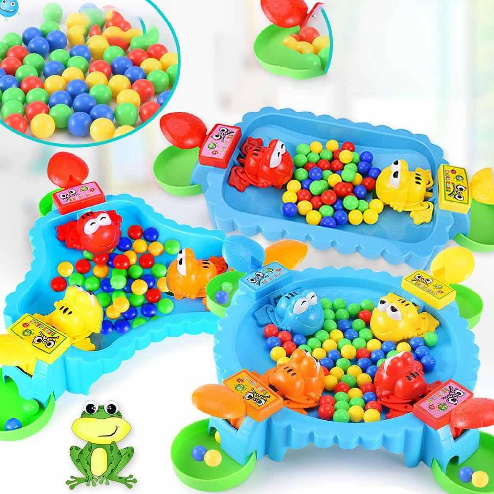 تغذية البلع الخرز الضفادع تناول الفاصوليا مكافحة الإجهاد ألعاب الدماغ عادية الوالدين والطفل ألعاب تعليمية للأطفال
