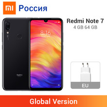 "Global Version Redmi Note 7 4GB 64GB 48MP Dual Camera Smartphone Snapdragon 660 Octa Core 4000mAh 6.3"" Full Screen Cellphone(China)"