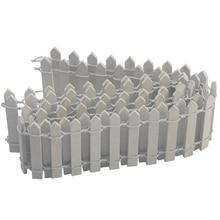 100*5 см DIY мини небольшой забор барьер деревянный ремесло миниатюрный волшебный сад-Террариум кукольные ветки палинги витрина украшение C#813