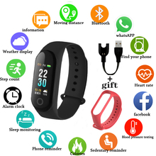 M30 Smart Watches Support For Multiple Languages Bracelet Heart Rate Blood Pressure Waterproof Ftness tracker for Android iOS
