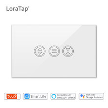 Tuya Smart WiFi en casa cortina interruptor para cortina eléctrica motorizada persiana enrollable Google Home Alexa Echo Control de voz DIY(China)