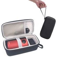 Viagem dura caixa de armazenamento caso protetor para anker nebulosa cápsula inteligente mini projetor drive acessórios carry bag (atualizado)