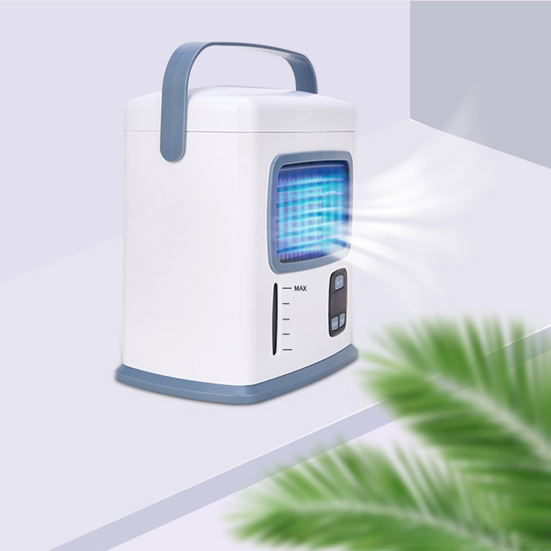 New Air Cooler Fan Portable Digital Air Conditioner Humidifier Space Easy Cool Purifier Air Cooling Fan for Home Office