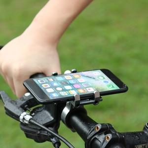 Image 4 - אופניים קטנוע אלומיניום סגסוגת נייד טלפון מחזיק MTB הרי אופני סוגר טלפון סלולרי Stand רכיבה על אופניים אבזרים