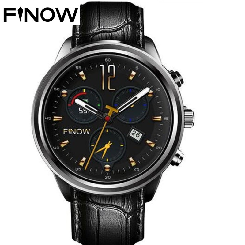 Finow X5 Air Smart Watch MT6580 3G Call RAM 2GB ROM 16GB Bluetooth WIFI GPS Music Video Player Android 5.1 Sports Watch