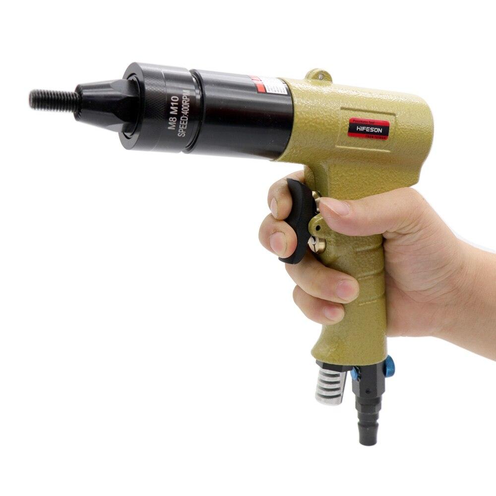 Guns-Insert Nuts Rivnut-Tool Riveters Threaded-Pull Pneumatic-Air-Rivet-Nut M4 M3 M6