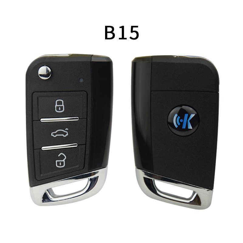 CHKJ B15 3 ボタン MQB スタイルユニバーサル KD リモコン KD200 KD900 KD900 + URG200 KD-X2 ミニ KD 車キージェネレータ