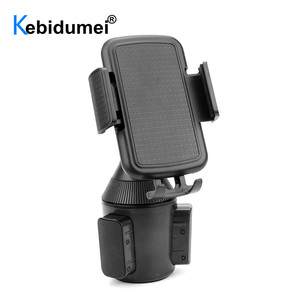 Image 2 - Universal Car Cup Holder Stand for Phone Adjustable Drink Bottle Holder Mount Support for Smartphone Mobile Phone Accessories