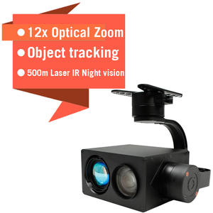 Camera Drone Photo Video Night-Vision And IR Laser-12x1080p-Box Hdmi-Output Aerial Gimbal-Zoom