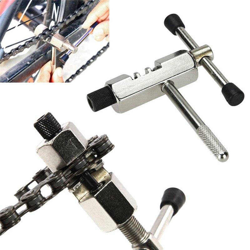 Купить с кэшбэком SOOCENT Mountain Bicycle Chain Rivet Repair Tool Breaker Splitter Pin Remove Replace MTB Bike Cycling Chain Breaker