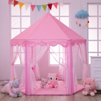 Baby Tent Pricess Castle Foldable Tents Playhouse Outside Children Playing Toy Tent Indoor Outdoor Portable Tent Game House baby indoor playhouse baby folding portable beach castle tent toy house for baby gifts