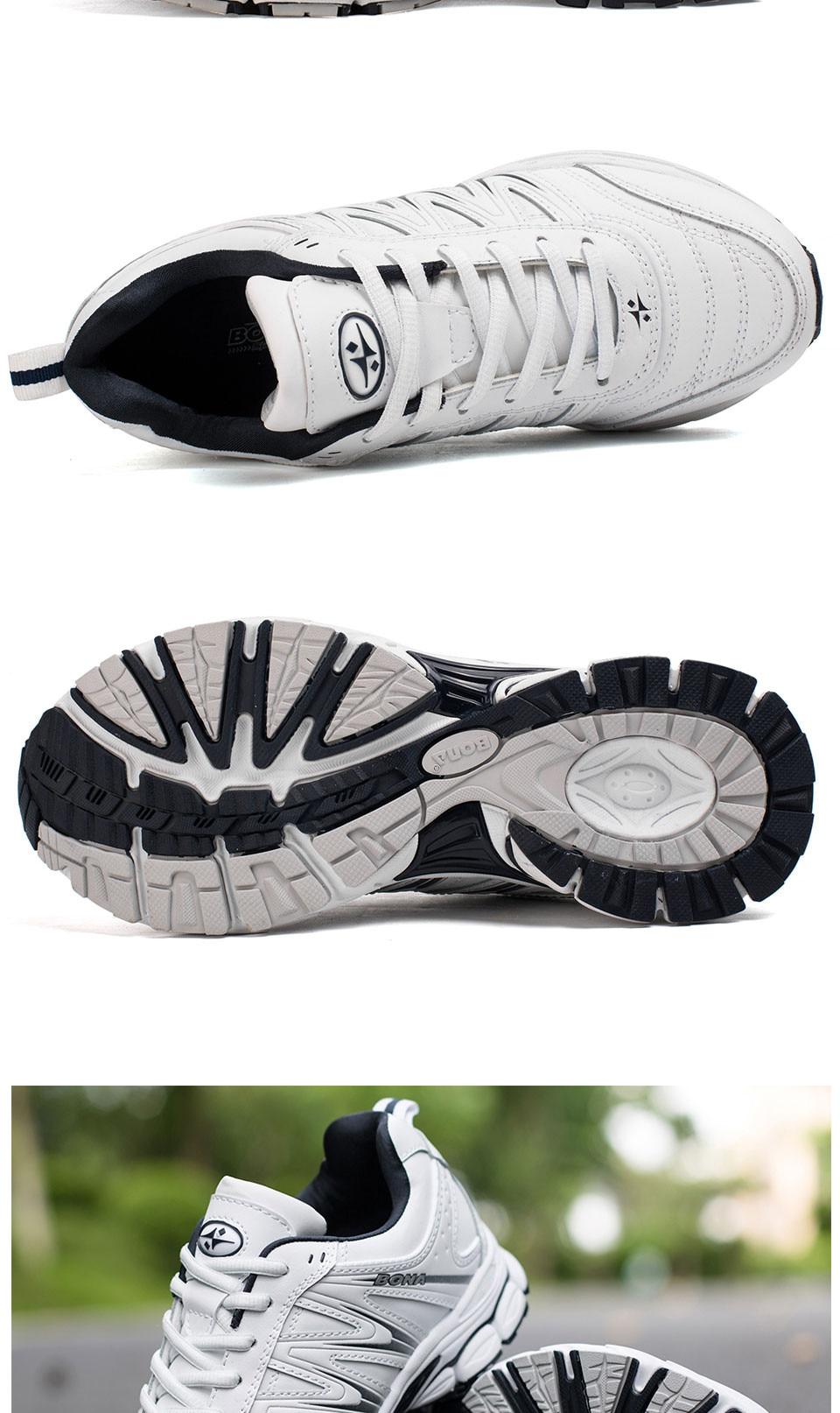 H437d42fad48a476c8874cb72c292de65B BONA 2019 New Designers Casual Shoes Men Style Cow Split Sneakers Male Lightweight Outdoor Fashion Footwear Man Trendy Comfy