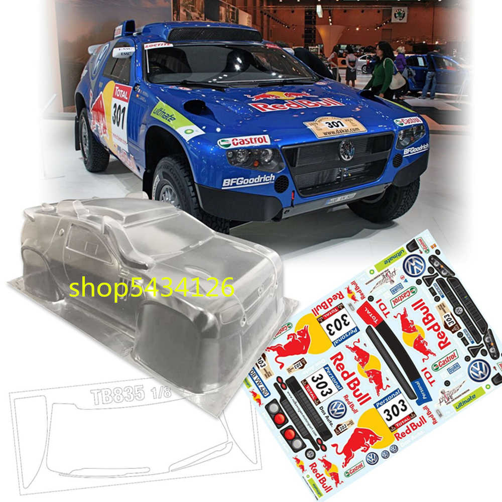 HSP 1//8 Scale Buggy Body w//Decals