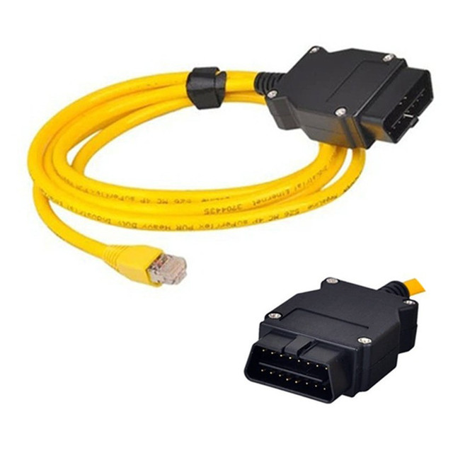 OBD Cable E-SYS For BMW F-serie ENET Ethernet to OBD Interface E-SYS ICOM Coding OBD2 Data Cable For BMW f25