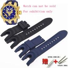 שעון אביזרי עבור INVICTA אינפנטה שעון AnatomicSubaqua סדרת מזלג 26mm גברים של ונשים של ספורט רך סיליקון רצועה