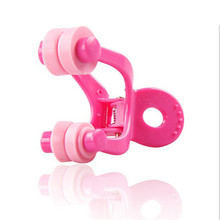 Pink Nose Up Clip Bridge Lifting Shaping Straightening Clip Clipper Nose Shaper Corrector B