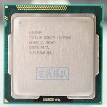Intel core i5-2500 i5 2500 processador quad-core, cpu lga 1155 pc computador desktop cpu 100% trabalhando corretamente