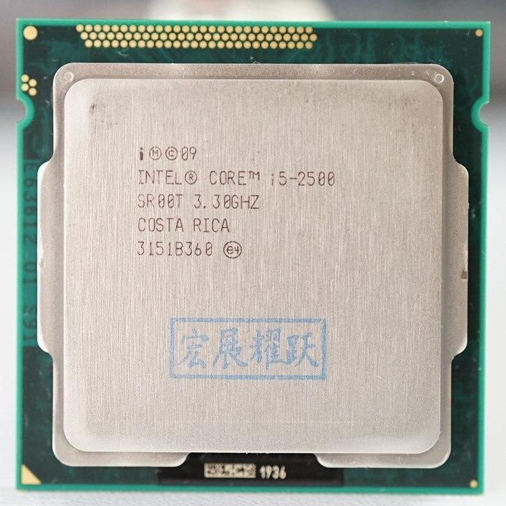 Intel Core i5 2500  i5 2500  Quad Core  CPU LGA 1155 PC Computer Desktop CPU  100% working properly Desktop Processor|desktop processor|intel core i5-2500|intel core - title=